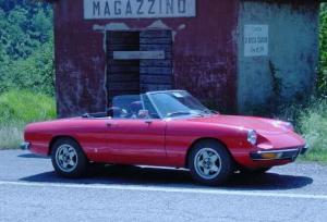 イタリア語でマガジーノは倉庫です。(後ろの小屋)イタリア渡し215諭吉
