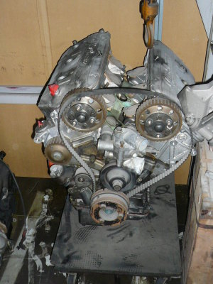 alfetta GTV6 full tuned engine
