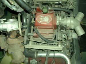 222 ツインターボエンジン