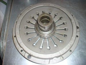 rebuild gtv 6 pressure plate with bearing