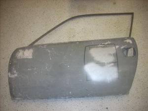 door junior Zagato with aluminium skin new old stock