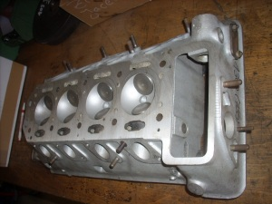 Cylinderhead 750 with 9mm shaft new valves