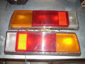 Pair rear lights