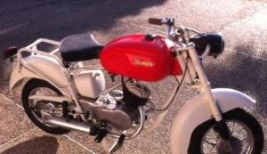 小さいバイク