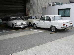 何故か3台とも白系で