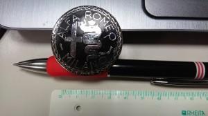 写真は中古のエンブレム かなり古いもの エナメル剥げあり 1個のみ 5000円